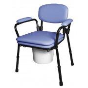 Κάθισμα τουαλέτας με επένδυση αφρολέξ
