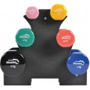 Σταντ ειδικά σχεδιασμένο για την τοποθέτηση των αλτήρων χεριών βινυλίου MSD Mambo Coated Dumbbells.