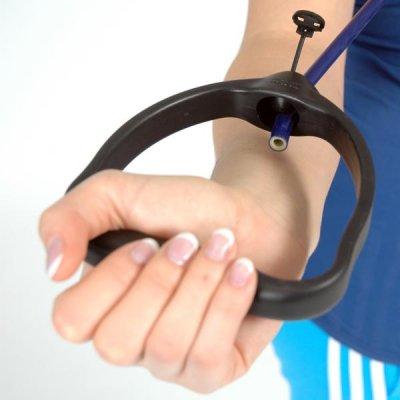 Οι ειδικές λαβές ασφαλείας, χρησιμοποιούνται σε συνδυασμό με το σωλήνα γυμναστικής MSD - Tube, προσφέροντας ευκολία στη χρήση.